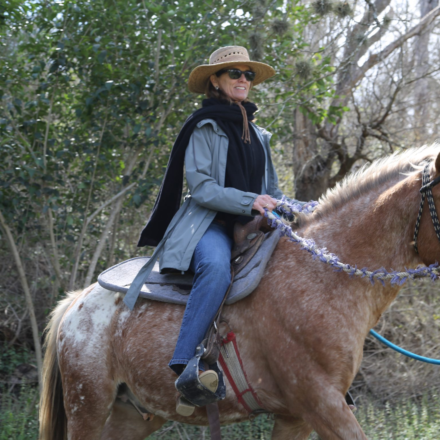 sandy appaloosa trail riding